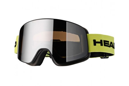 HEAD HORIZON RACE lime + SpareLens